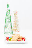 Buttery Shortbread Cookies Stock Images