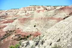 Buttes in the Badlands Stock Photos