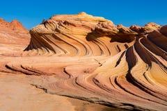 Buttes de coyote dans les falaises vermillonnes Arizona Image stock