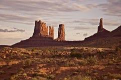 Buttes del deserto Immagine Stock Libera da Diritti