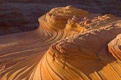 Buttes do chacal a onda Fotografia de Stock Royalty Free