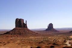 Buttes do vale do monumento Fotografia de Stock Royalty Free