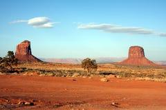 Buttes do vale do monumento Imagens de Stock
