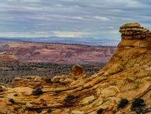 Buttes du sud de coyote Photo libre de droits