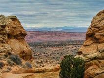 Buttes du sud de coyote Photographie stock libre de droits