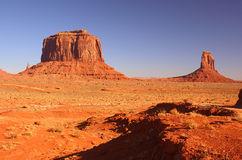 Buttes in Monument Valley Stock Photo