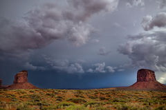 Buttes at Monument Valley Stock Photos