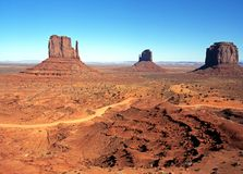 Buttes, Monument Valley. Stock Image