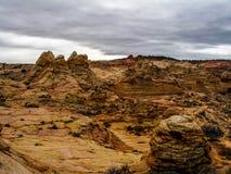 Buttes van de zuidencoyote Royalty-vrije Stock Foto's