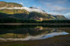 Buttle Lake, Strathcona Provincial Park, Campbell River, British Stock Photography