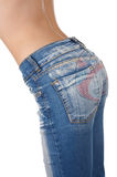 Buttocks in jeans Stock Photography