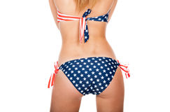 Buttocks in swimsuit Royalty Free Stock Photography