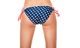 Buttocks in swimsuit Stock Image