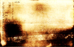 buttom πόδι grunge Στοκ εικόνα με δικαίωμα ελεύθερης χρήσης