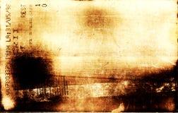 Buttom de pied de Grunge Image libre de droits