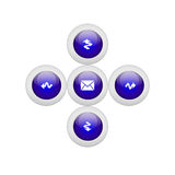 Button Royalty Free Stock Image