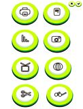 Button. This is a buuton non outlines vector illustration