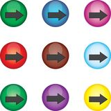 The button Royalty Free Stock Photo