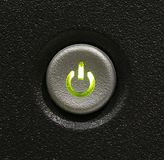 Button. On/off button royalty free stock images