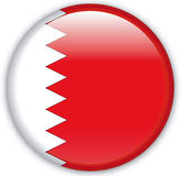 Button. With map from Bahrain - Vector Royalty Free Stock Photography