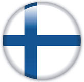 Button. With map from Finland - Vector Royalty Free Stock Photo