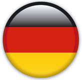 Button. With map from Germany - Vector Royalty Free Stock Photos