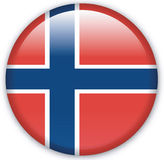 Button. With map from Norway - Vector Stock Photos