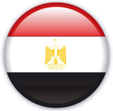 Button. With map from Egypt - Vector Royalty Free Stock Images