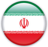 Button. With map from Iran - Vector Royalty Free Stock Image