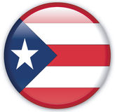 Button. With map from Puerto Rico - Vector Royalty Free Stock Photography