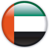 Button. With map from United Arab Emirates - Vector Royalty Free Stock Photo