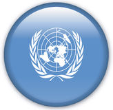 Button. With map from United Nations - Vector Stock Photos