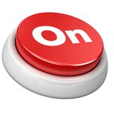 Button On Royalty Free Stock Photo
