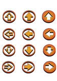 Button Royalty Free Stock Photos