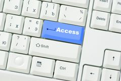 Button Access Royalty Free Stock Images