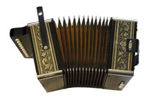 Button Accordion Royalty Free Stock Photo