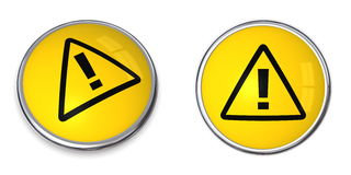 Button Attention Symbol Royalty Free Stock Photography