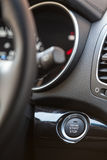 Button automatically start and stop the engine car Royalty Free Stock Images