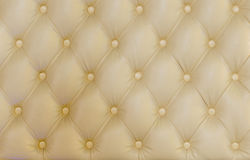 Button back upholstery detail Stock Photo