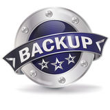 Button backup Stock Photography