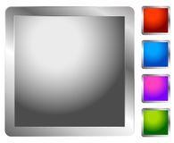 Button, badge element in several color. Blank button backgorund. Royalty free vector illustration vector illustration