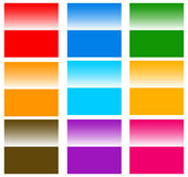Button / badge / pin / tag / label shapes, elements Royalty Free Stock Image