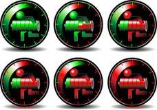 Button battery Royalty Free Stock Photos
