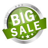 Button - big sale Stock Photo