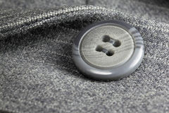 Button on a business suit Royalty Free Stock Photography