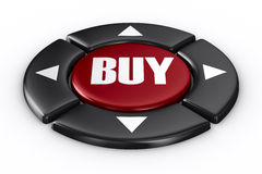 Button buy on white background Royalty Free Stock Images