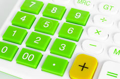 Button calculator Royalty Free Stock Photography