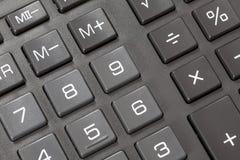 Button on a calculator. Stock Photography