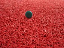 Button in carpet royalty free stock image