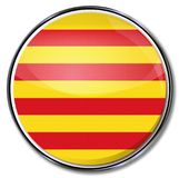 Button of Catalonia Stock Photography